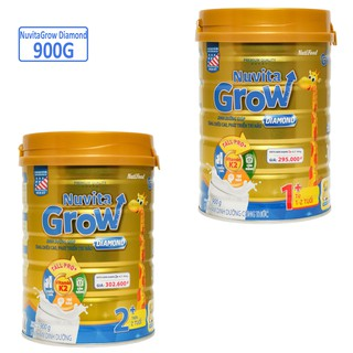 SỮA BỘT NUVITA GROW DIAMOND 1+/2+ 900G