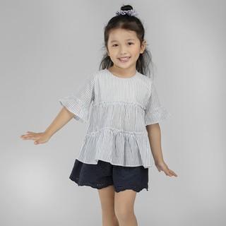 Áo kiểu BAA BABY tay loe bèo nhún 2 tầng xinh xắn cho bé gái - GT-AL10L thumbnail