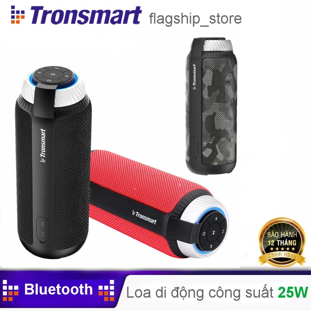 Loa Bluetooth ngoài trời, âm thanh vòm 360 độ tích hợp Microphone Tronsmart Element T6 Hãng Phân Phối Chính Thức