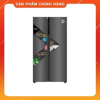 [ FREE SHIP KHU VỰC HÀ NỘI ] Tủ lạnh Aqua 2 cửa màu đen 570/541 lít AQR-S541XA.BL