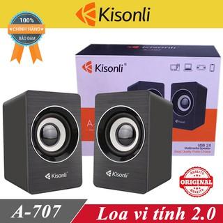 Loa vi tính Kisonli A707 chính hang ♥️Freeship♥️ Loa máy tính Kisonli A707