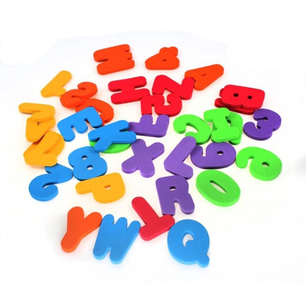 36pcs/ Lot Funny New Stick on High Quality Candy Color Floating Bath Toy