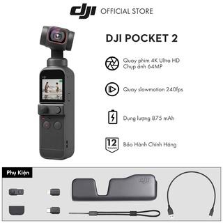 DJI Osmo Pocket 2 máy quay phim chống rung 4K 60fps - Hàng chính hãng thumbnail