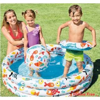 Bộ Bể Bơi 3 Chi Tiết Intex Tặng Kèm Bơm Điện