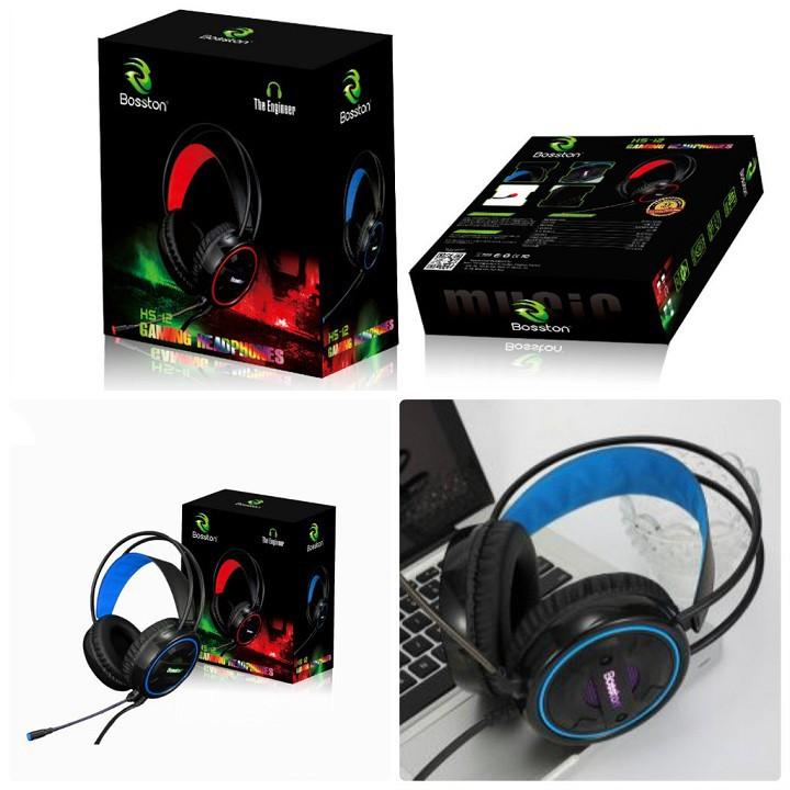 Headphone Bosston HS12 Led Rainbow âm thanh cực hay - Màu bất kì ...