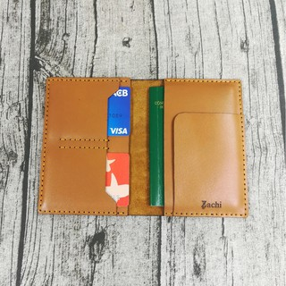 Passport cover, Ví đựng passport hộ chiếu da bò handmade thumbnail