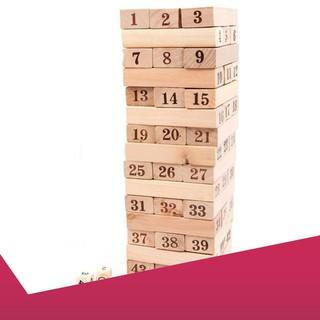 (ẢNH TỰ CHỤP) Bộ đồ chơi rút gỗ 48 thanh to