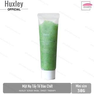 [Mini size 30g]Mặt nạ tẩy tế bào chết Huxley Scrub Mask Sweet Therapy 30g thumbnail