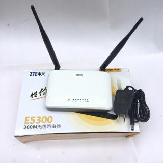 [Freeship toàn quốc từ 50k] Bộ phát wifi ZTE E5300 2 râu 300 Mbs có chức năng kích sóng wifi thumbnail