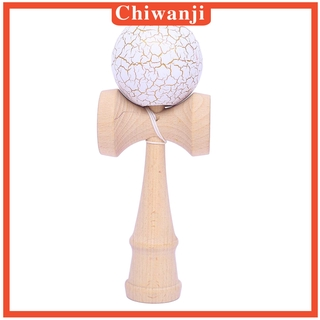 [CHIWANJI] Kendama Japanese Traditional Game Ball Toy Kids Ball-Catching Wood Toy