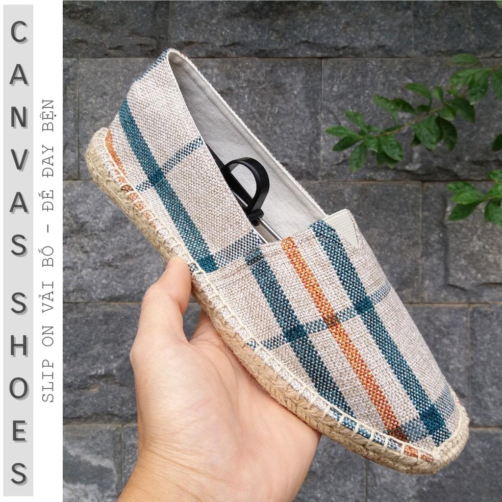 Slip on nam | giày lười vải nam kiểu TOMS - Vải bố, đế cói - Mã SP 8085 - 2993475 , 205143199 , 322_205143199 , 210000 , Slip-on-nam-giay-luoi-vai-nam-kieu-TOMS-Vai-bo-de-coi-Ma-SP-8085-322_205143199 , shopee.vn , Slip on nam | giày lười vải nam kiểu TOMS - Vải bố, đế cói - Mã SP 8085