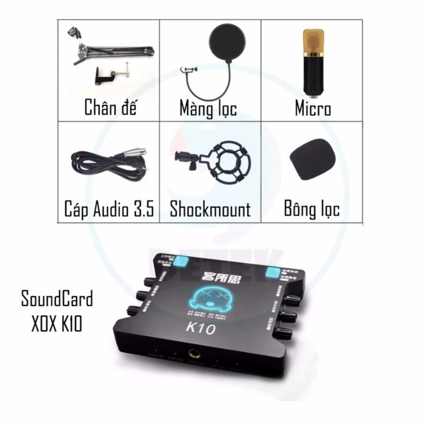 Bộ Livestream Card âm thanh XOX K10,Micro K600 thu âm Màng lọc âm - 3333047 , 532463833 , 322_532463833 , 1089000 , Bo-Livestream-Card-am-thanh-XOX-K10Micro-K600-thu-am-Mang-loc-am-322_532463833 , shopee.vn , Bộ Livestream Card âm thanh XOX K10,Micro K600 thu âm Màng lọc âm