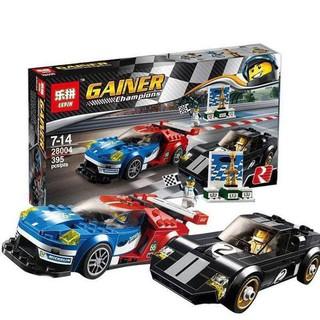 Mô hình LEGO 2 xe đua Champion lepin 28004