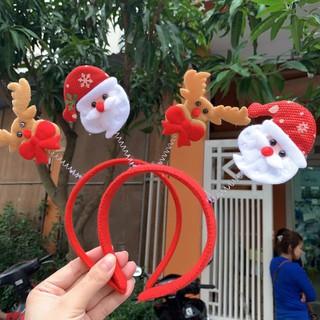 Bờm Tóc Noel Siêu Xinh Đồ Đi Chơi Noel Giáng Sinh
