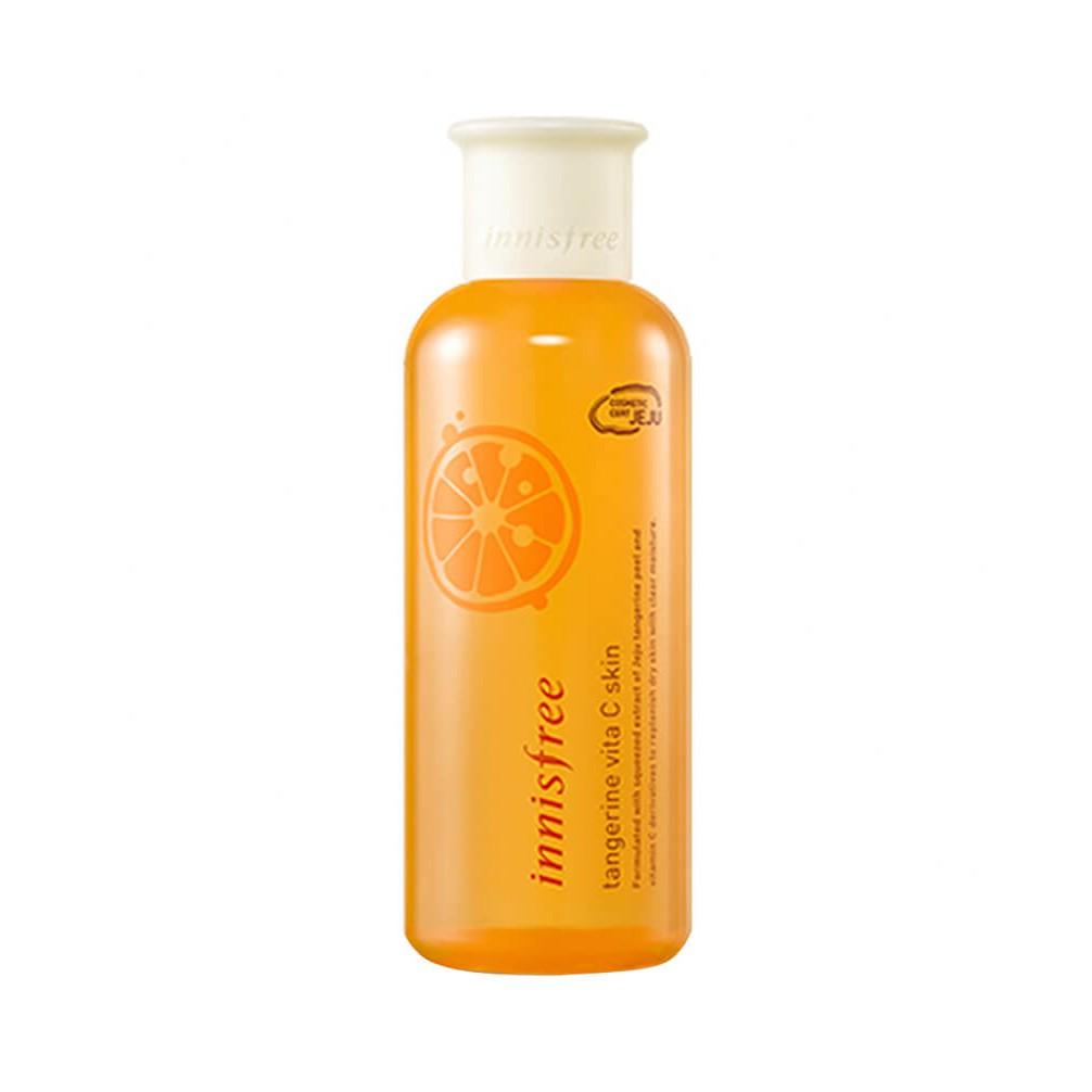 Nước hoa hồng làm trắng, giảm nám, mờ thâm Innisfree Tangerine Vita C Skin 200ml - 2904465 , 1281359892 , 322_1281359892 , 550000 , Nuoc-hoa-hong-lam-trang-giam-nam-mo-tham-Innisfree-Tangerine-Vita-C-Skin-200ml-322_1281359892 , shopee.vn , Nước hoa hồng làm trắng, giảm nám, mờ thâm Innisfree Tangerine Vita C Skin 200ml