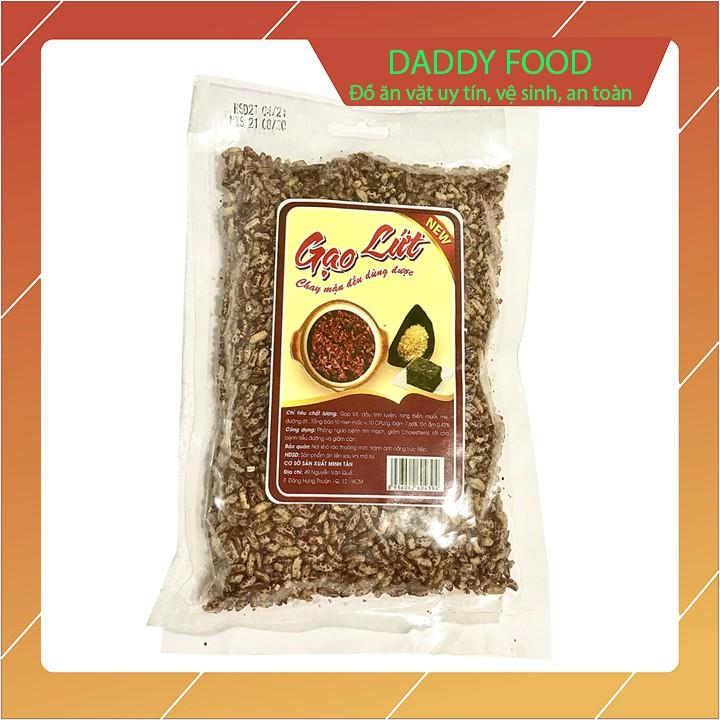 Gạo lứt sấy vị muối mè dùng cho cả người ăn chay lẫn ăn mặn gói 150g