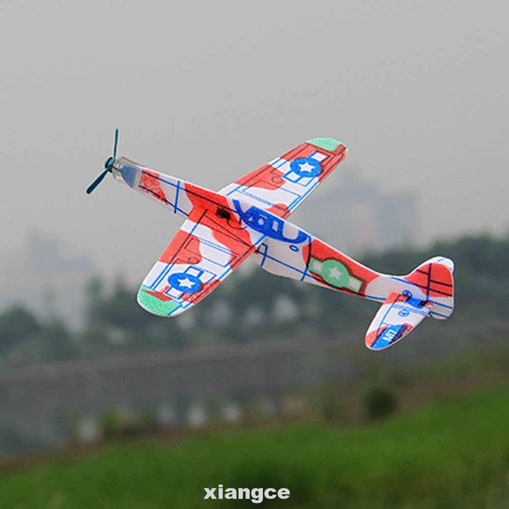 Game Party Scientific Plastic Children Toys Random Color Hand Throwing Gift Airplane Model