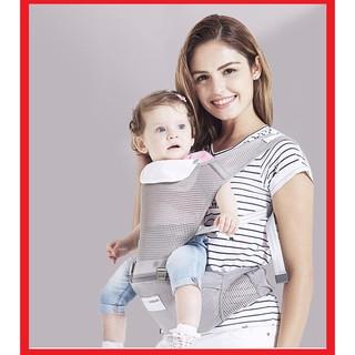 🍁 Địu em bé, địu ngồi chống gù thoáng mát cho bé 0-36 tháng