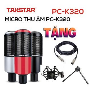 Chính hãng Mic thu âm chuyên nghiệp cao cấp Takstar PC-K320 hát karaoke, livestream, bán hàng, BẢO HÀNH 1 NĂM thumbnail