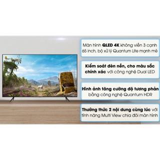 Smart Tivi QLED Samsung 4K 65 inch QA65Q60T.Model2020( Hàng tồn kho NEW Bảo hành chính hãng 2 năm)