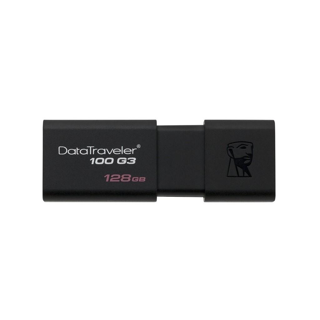 USB 3.0 Kingston DT100G3 128GB tốc độ cao upto 130MB/s tặng đèn LED USB