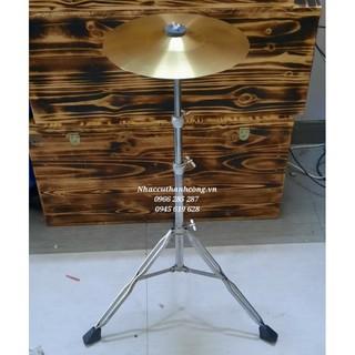 Giá đỡ cymbal cộc đôi, chân xanh pan đánh cajon,chân cymbal chơi trống jazz - Thiết bị Đoàn Đội