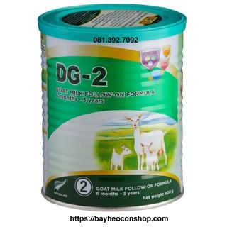 [Date04 2022] Sữa dê công thức DG-2 400g thumbnail