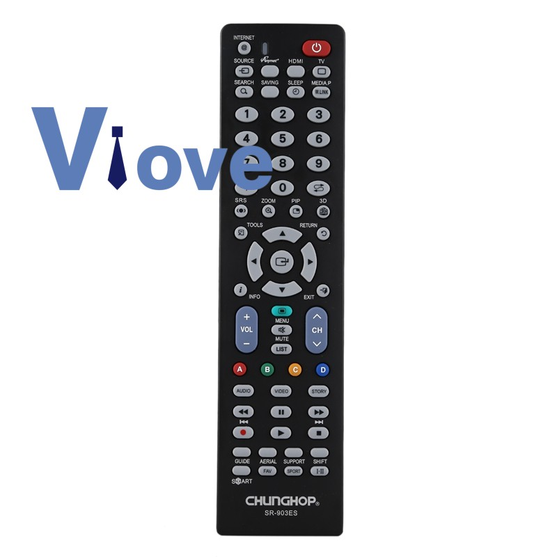 Chunghop Sr-903Es Remote Control Controller For All Samsung 3Dtv Tv
