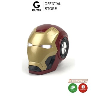 Loa Bluetooth Nghe Nhạc Đầu Iron Man Gutek