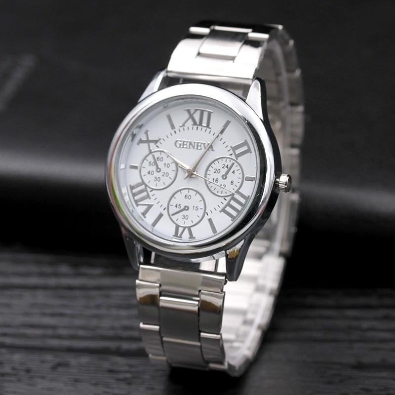 Đồng hồ nam nữ thời trang Geneva cao cấp cực hot DH99