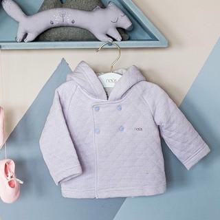 Áo Khoác Nous 2 Màu Tai Gấu Trần Bông Mẫu Mới 2020 Màu Xanh - Tím(Size Từ 3-6 Tháng Đến 18-24 Tháng)