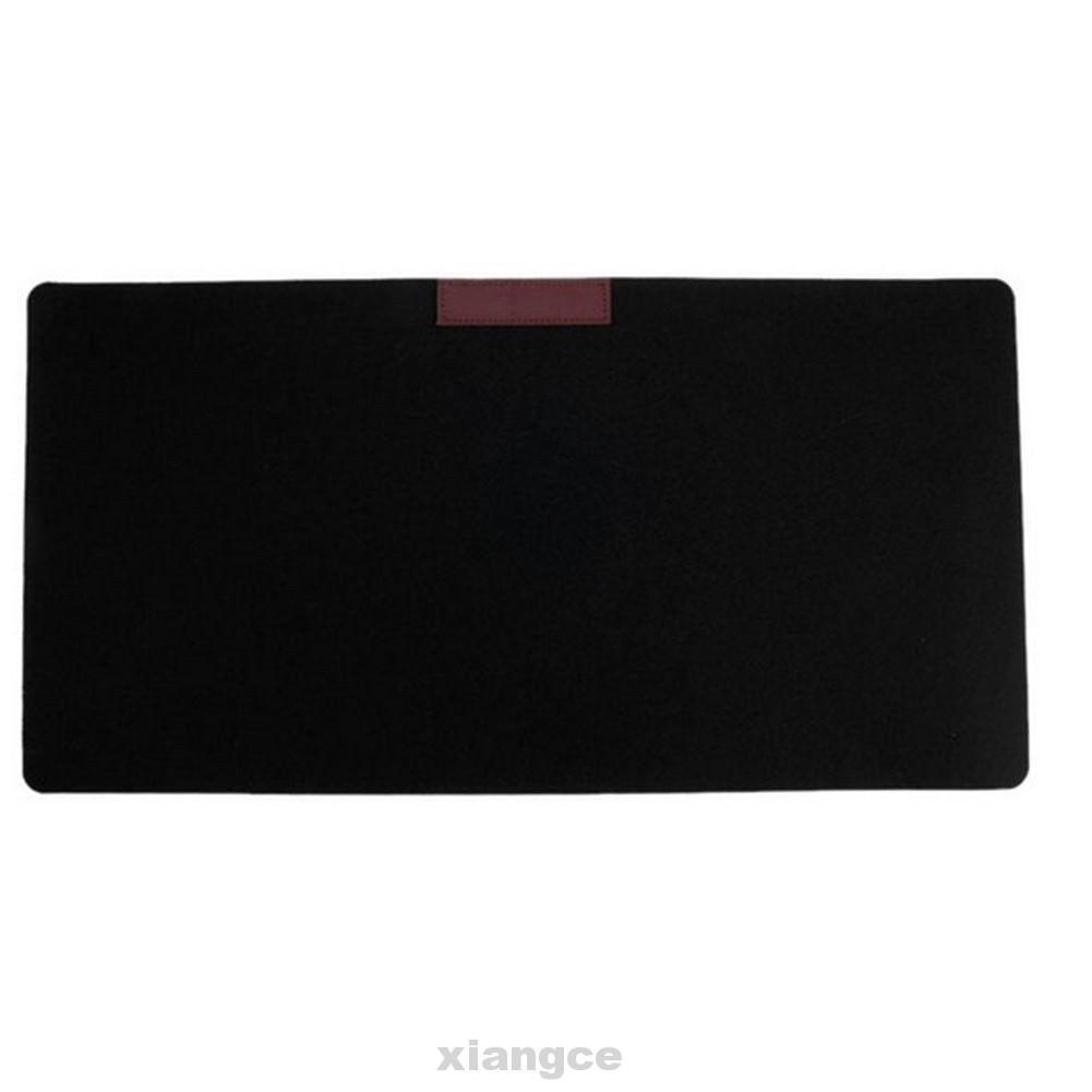 Large Desktop Soft Gaming Keyboard Felt Cloth Laptop Home Office Mouse Pad