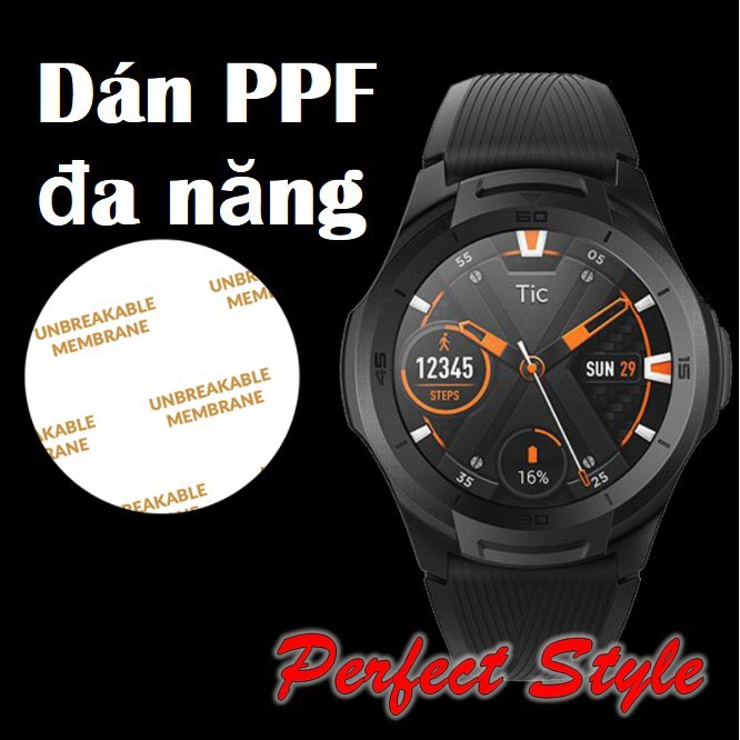 Miếng Dán PPF đa năng dành cho đồng hồ thông minh và cơ mặt tròn 30 31 32 33 34 35 36 37 38 39 40 41 42 43 44 45 46 mm