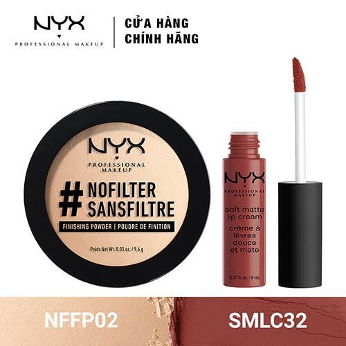 Bộ đôi Phấn phủ siêu mịn & Son Kem Lì NYX Professional Makeup (NFFP02 + SMLC32) _ TUNX00019CB - 3508951 , 1307089363 , 322_1307089363 , 680000 , Bo-doi-Phan-phu-sieu-min-Son-Kem-Li-NYX-Professional-Makeup-NFFP02-SMLC32-_-TUNX00019CB-322_1307089363 , shopee.vn , Bộ đôi Phấn phủ siêu mịn & Son Kem Lì NYX Professional Makeup (NFFP02 + SMLC32) _ TU
