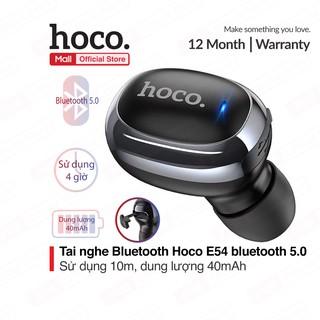 Tai nghe mini Hoco E54 âm thanh chất lượng, Bluetooth 5.0, dung lượng 40mAh, siêu nhỏ gọn, dễ dàng mang theo