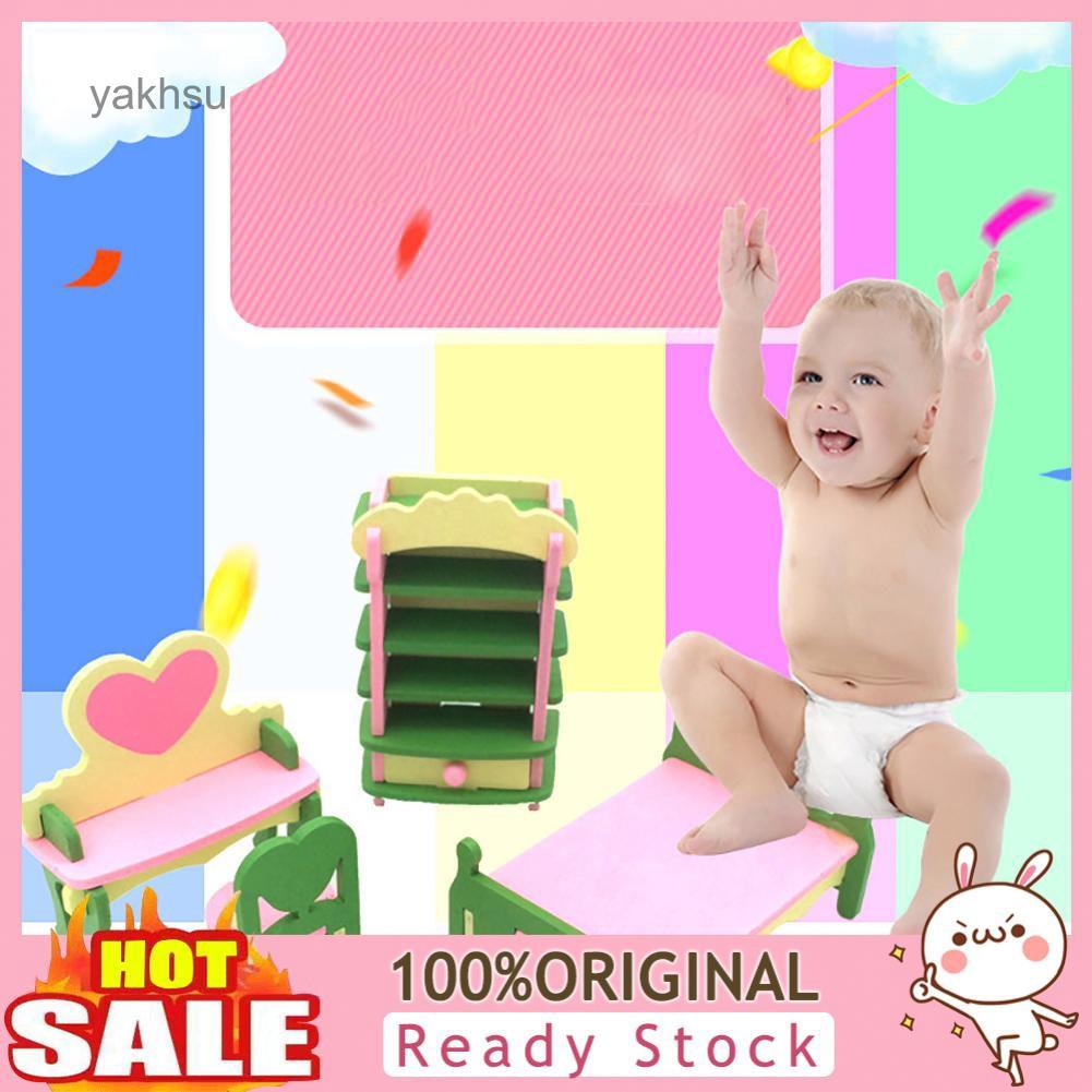 Bộ đồ chơi nhà bếp bằng gỗ cho bé