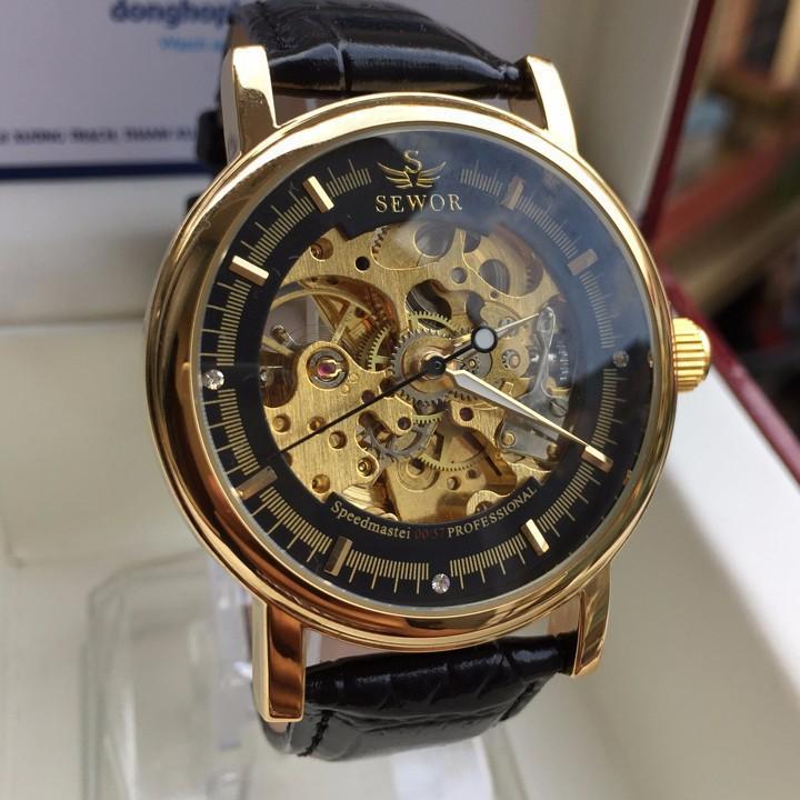 Đồng hồ cơ lộ máy Sewor-có clip