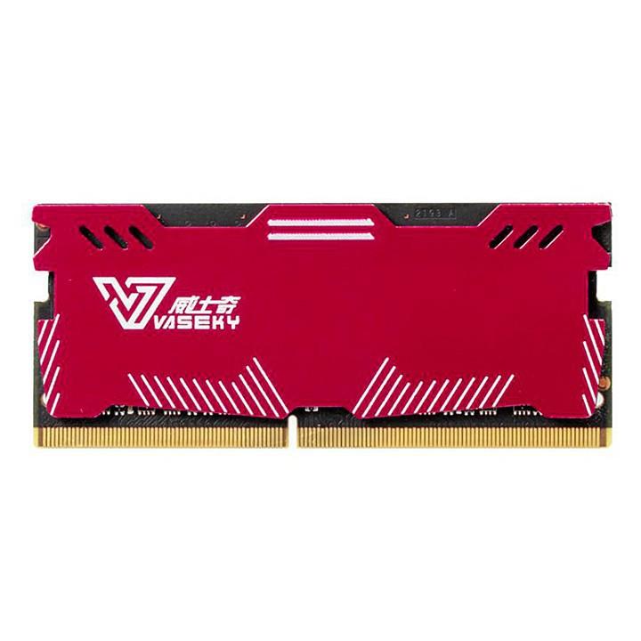 [GIẢM GIÁ]  RAM laptop có tản nhiệt Vaseky DDR3 8GB bus 1600 MHz -TOÀN QUỐC