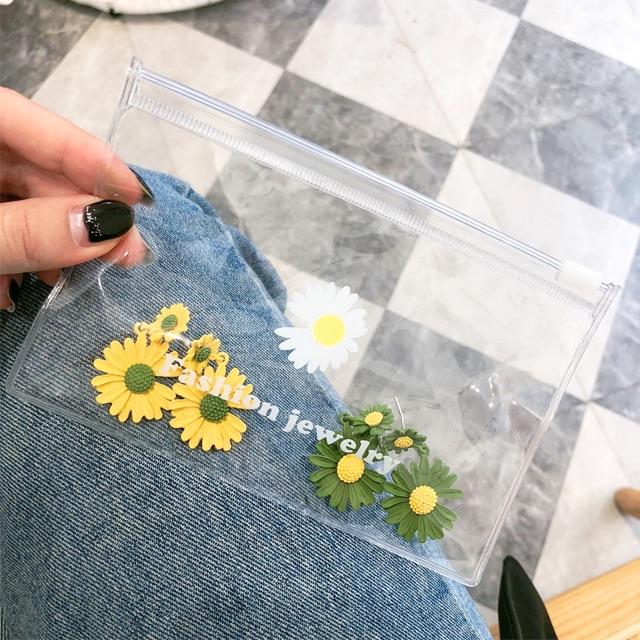 Túi nhựa trong suốt hoa Daisy