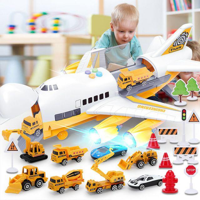 Set máy bay và xe hơi (có pin)