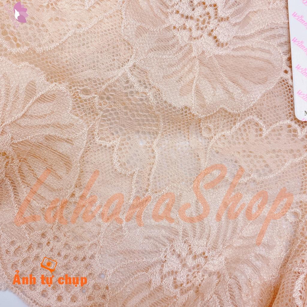 Quần lót ren đùi hoa hồng Wimmy cao cấp 2 trong 1 có thể mặc thay quần trong váy (có video test chất lượng)   BigBuy360