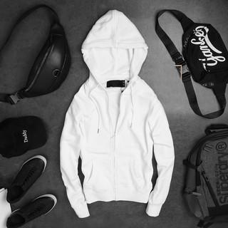 Yêu ThíchÁo khoác nỉ hoodie trơn unisex - Thun tay dài form rộng có mũ dáng suông basic ulzzang nam nữ - CBGSHOP