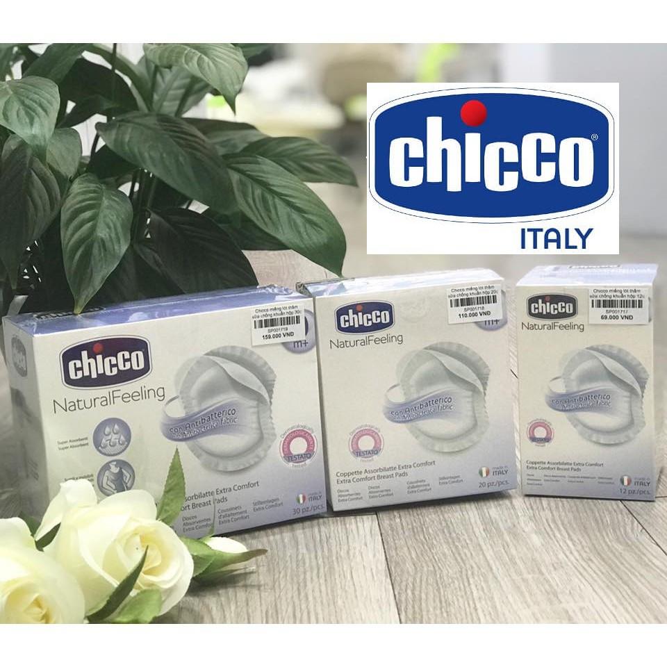Miếng lót thấm sữa chống khuẩn 30 PCS Chicco