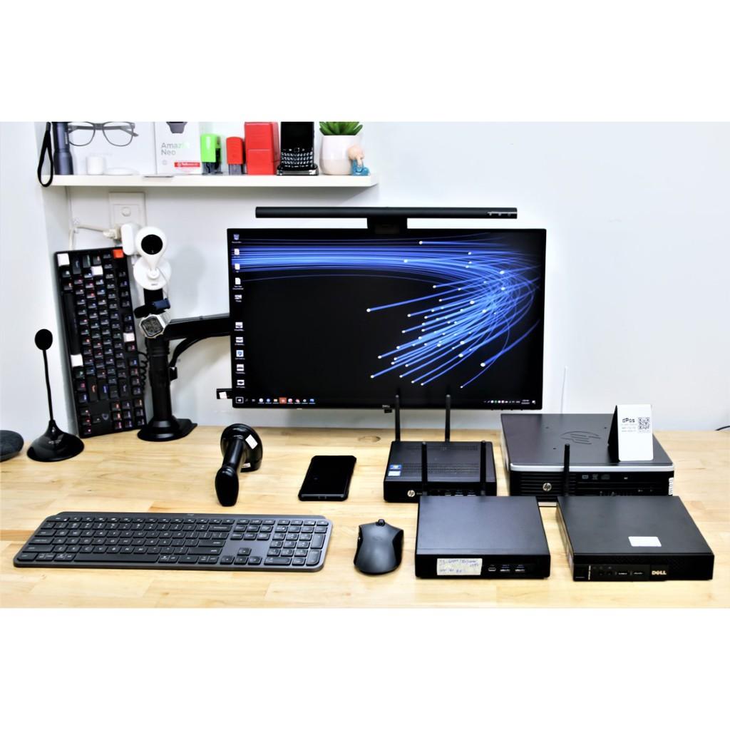 Máy Tính Tiny PC HP 8300USDT I3 RAM 8GB SSD 128GB Cấu Hình Chuyên Dụng Cho Shop Bán Hàng Shopee Và Các Sàn TMĐT