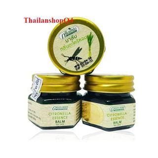 (HCM) Cù là bôi muỗi đốt Green Herb Balm 20g Thái Lan thumbnail
