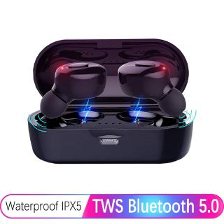 Bộ tai nghe nhét trong bluetooth 5.0 không dây chống thấm nước kèm hộp đựng