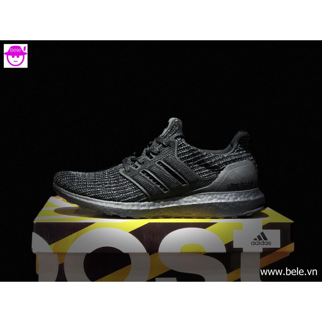93f851aace569 Giày Adidas Ultra Boost 4.0 Triple Black 1 1