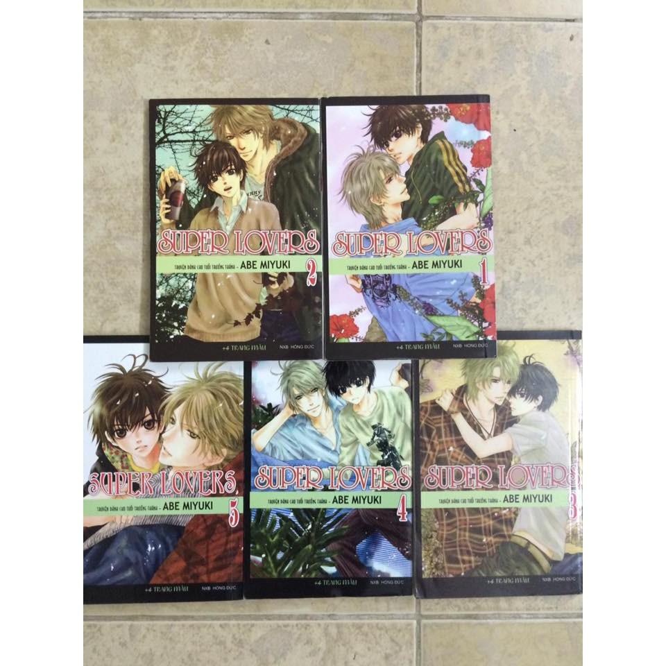 Truyện tranh Super Lovers - 2680597 , 1277082971 , 322_1277082971 , 150000 , Truyen-tranh-Super-Lovers-322_1277082971 , shopee.vn , Truyện tranh Super Lovers