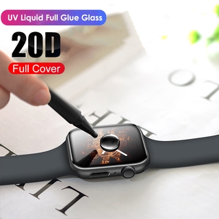Kính Cường Lực iWatch 5 4 3 2 1 for Apple Watch 40MM 44MM 38mm 42mm Full Keo UV