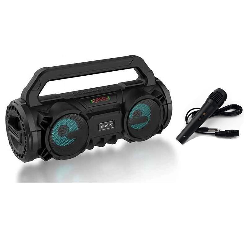 Loa mini karaoke Bluetooth Không Dây Tiện Lợi BKK B99 Kèm míc